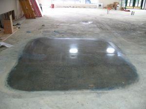 ליטוש רצפת בטון לדוגמא